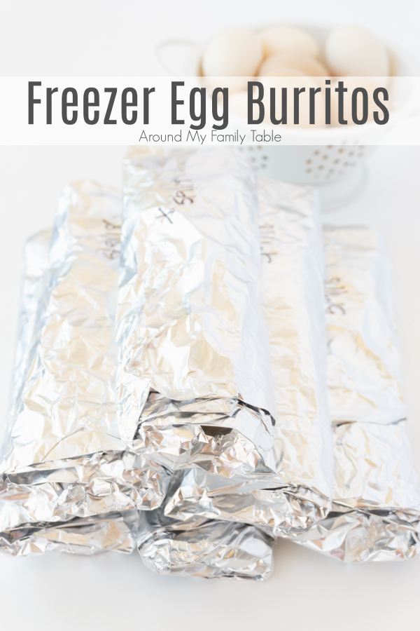 titled image (and shown): freezer egg burritos