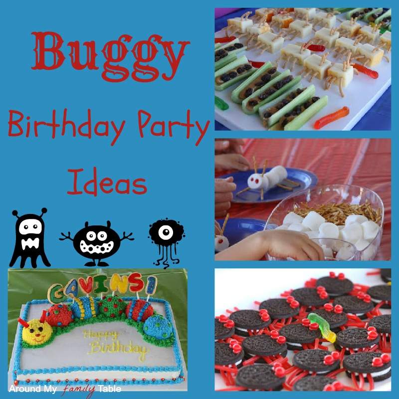 Buggy Birthday Party Ideas