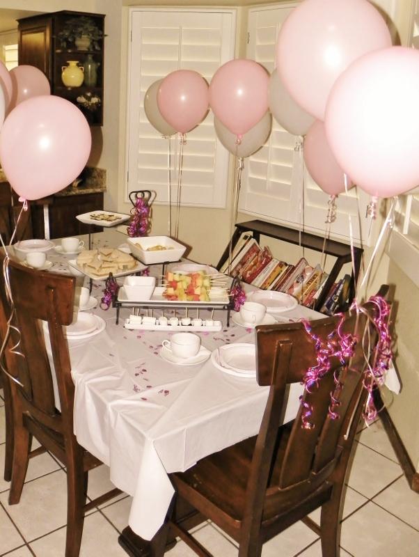 Princess Tea Party Ideas Around My Family Table