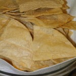 Baked Corn Chips