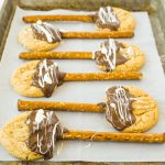 Witches Broom Cookies (aka Peanut Butter Cookies on a Stick)