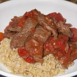 Italian Beef over Rice