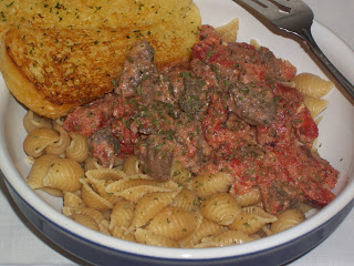 Steak in a Creamy Tomato Sauce