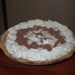 Coffee-Drizzled Cream Cheese Pie