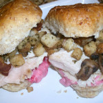 Cranberry-Turkey Sliders