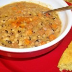 Slow Cooker Black-Eyed Pea Soup