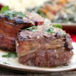 Steak with Garlic Butter Sauce