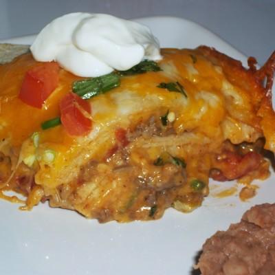 Mexican Lasagna Casserole