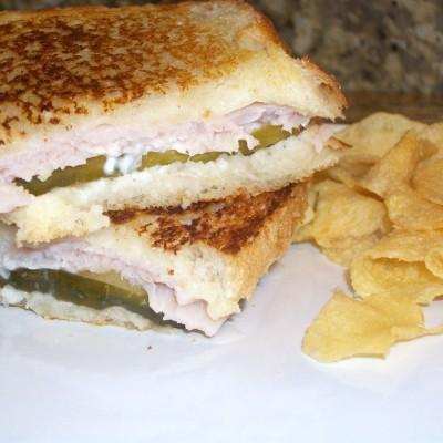 Grilled Turkey & Cheese Sandwiches