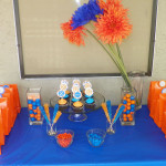 Blue & Orange Birthday Party