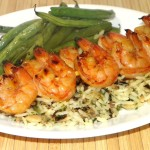 Sweet Asian Grilled Shrimp