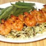 Sweet Asian Grilled Shrimp
