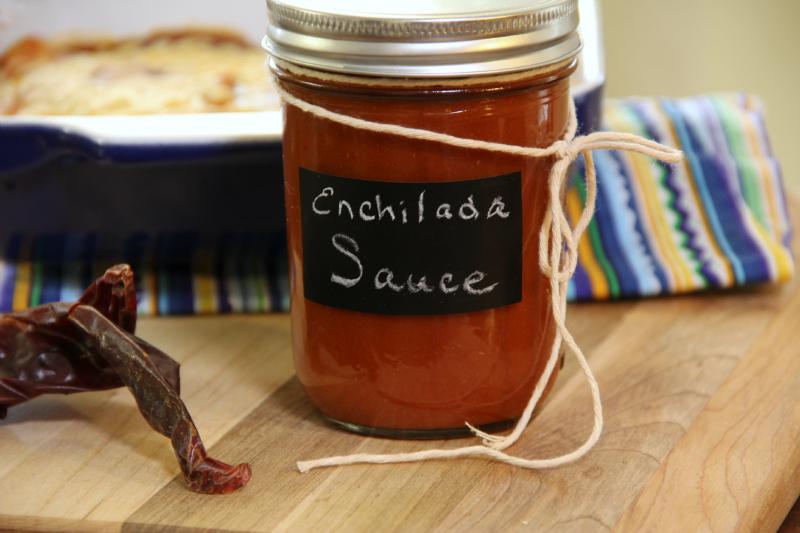 DIY Homemade Enchilada Sauce from Scratch