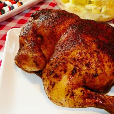 Roasted Sticky Chicken