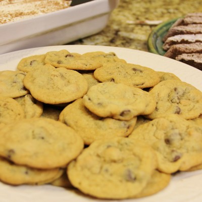 Chocolate & PB Chip Cookies