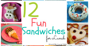 12 Fun Lunchbox Sandwiches
