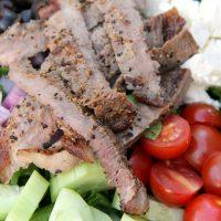 Grilled Steak and Feta Salad