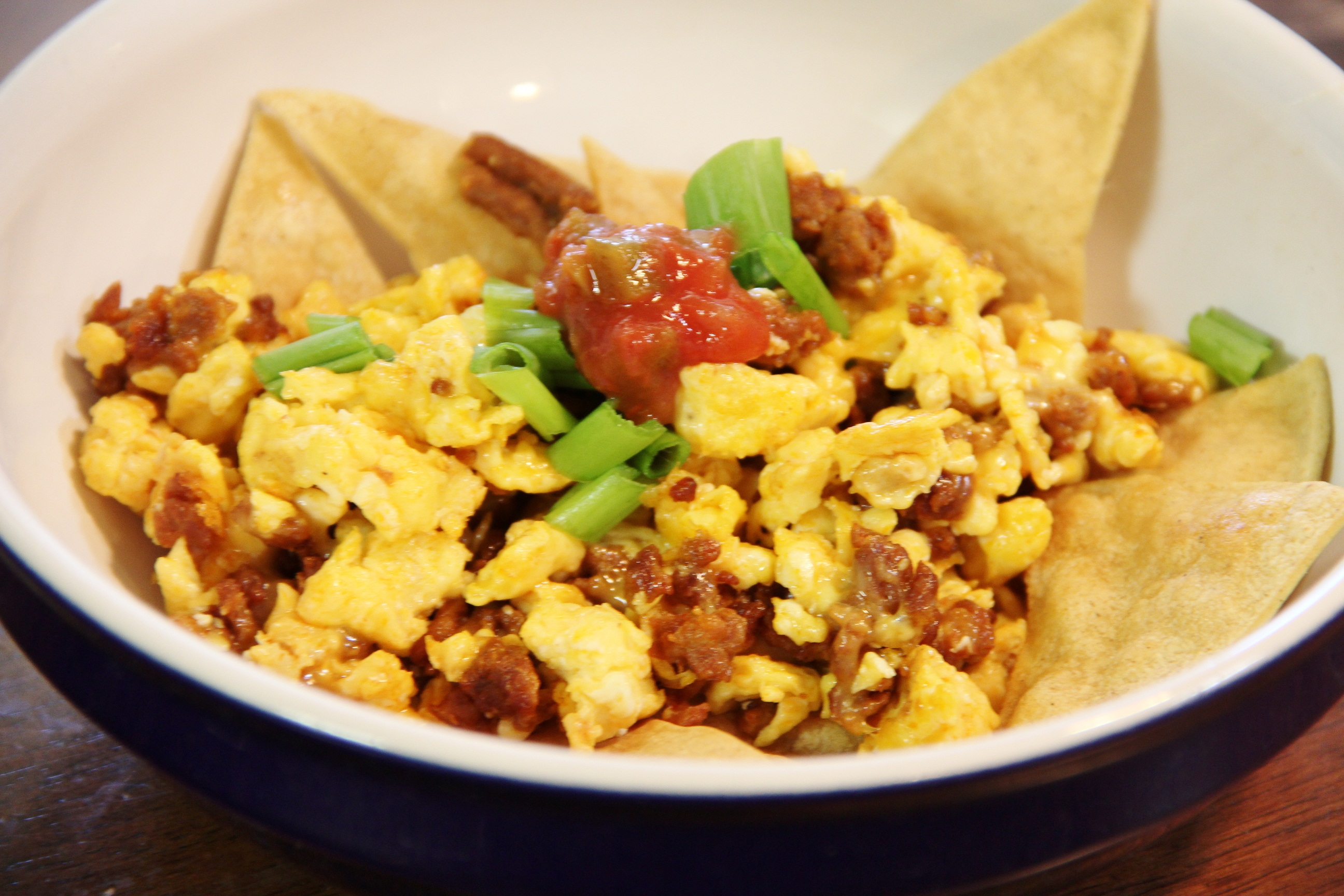 Breakfast Nachos - Around My Family Table