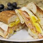 Capicola Ham and Egg Sandwich