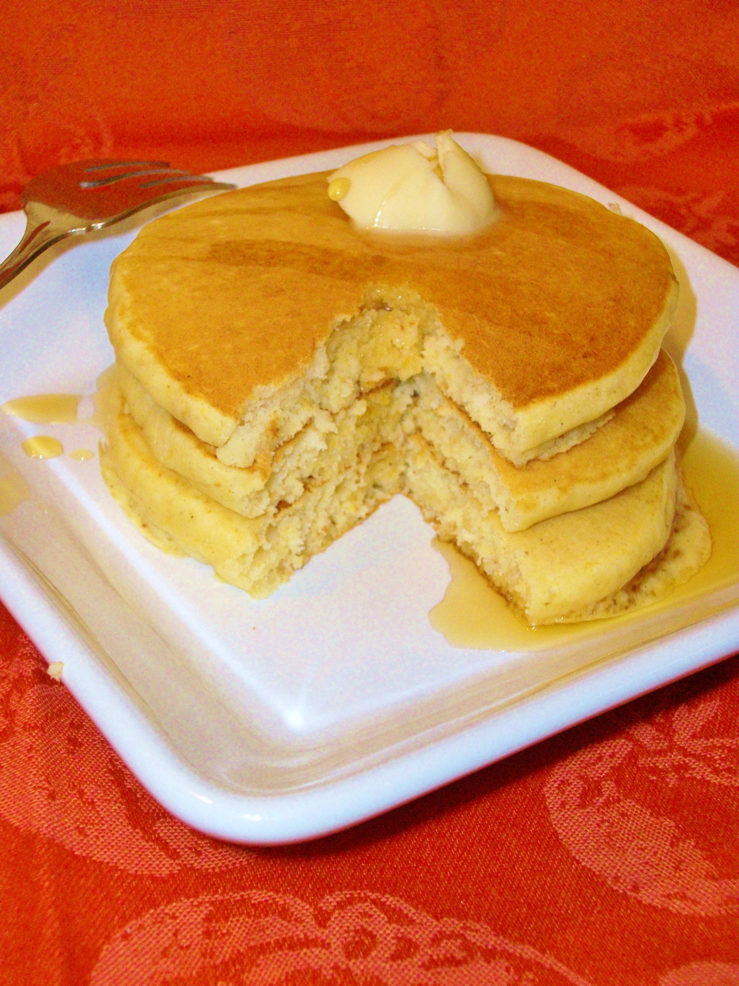 Pumpkin Pancakes - Around My Family Table