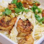 Spicy Shrimp Alfredo