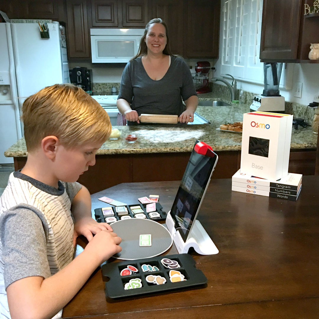 OSMO..A fun educational game for iPads