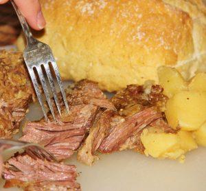 Slow Cooker User's Favorite Pot Roast - Not Your Mama's Pot Roast!