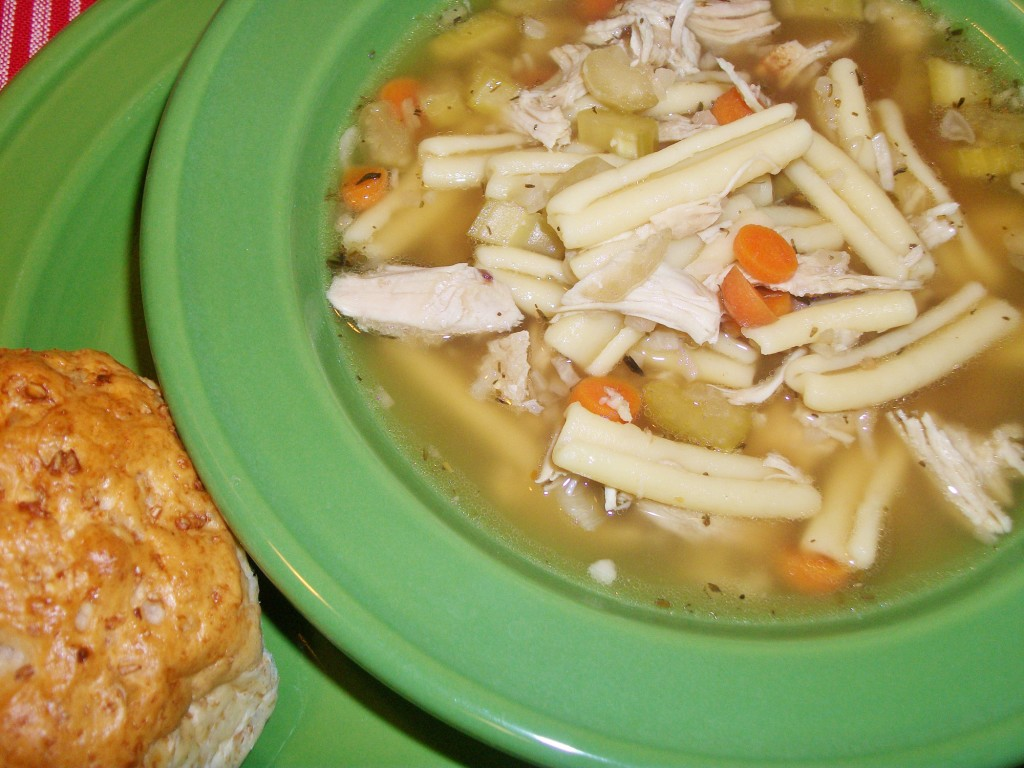 Turkey Noodle Soup - Around My Family Table