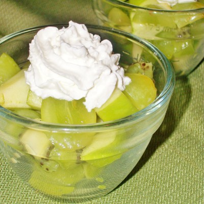 Green Fruit Salad