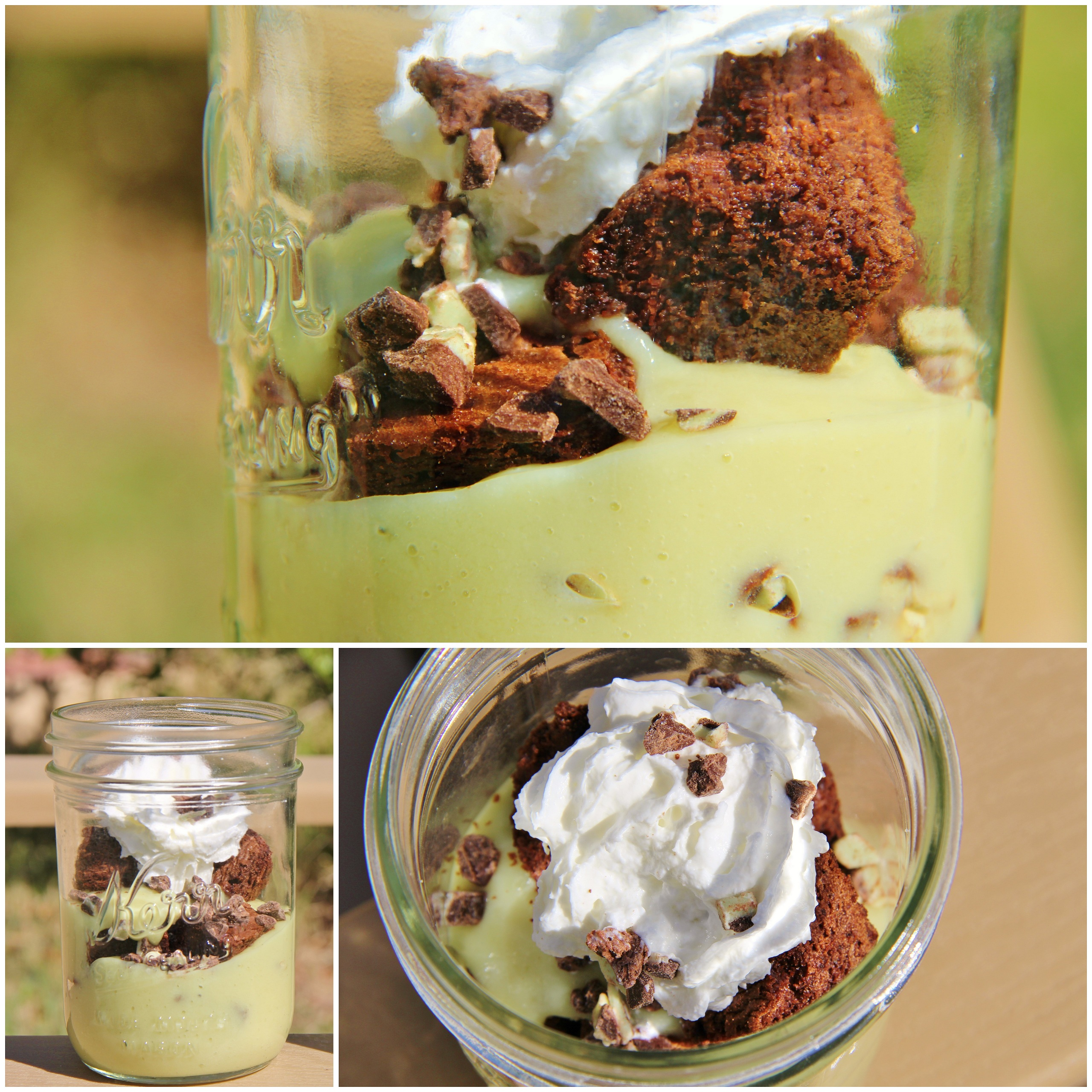 Chocolate Mint Trifle - Around My Family Table