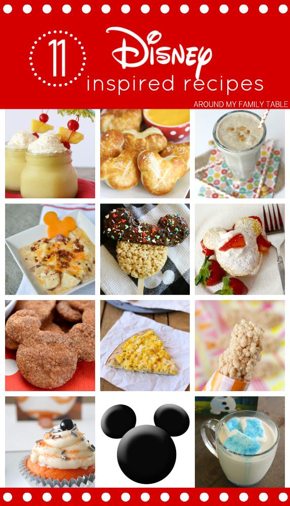 11 Disney Inspired Recipes