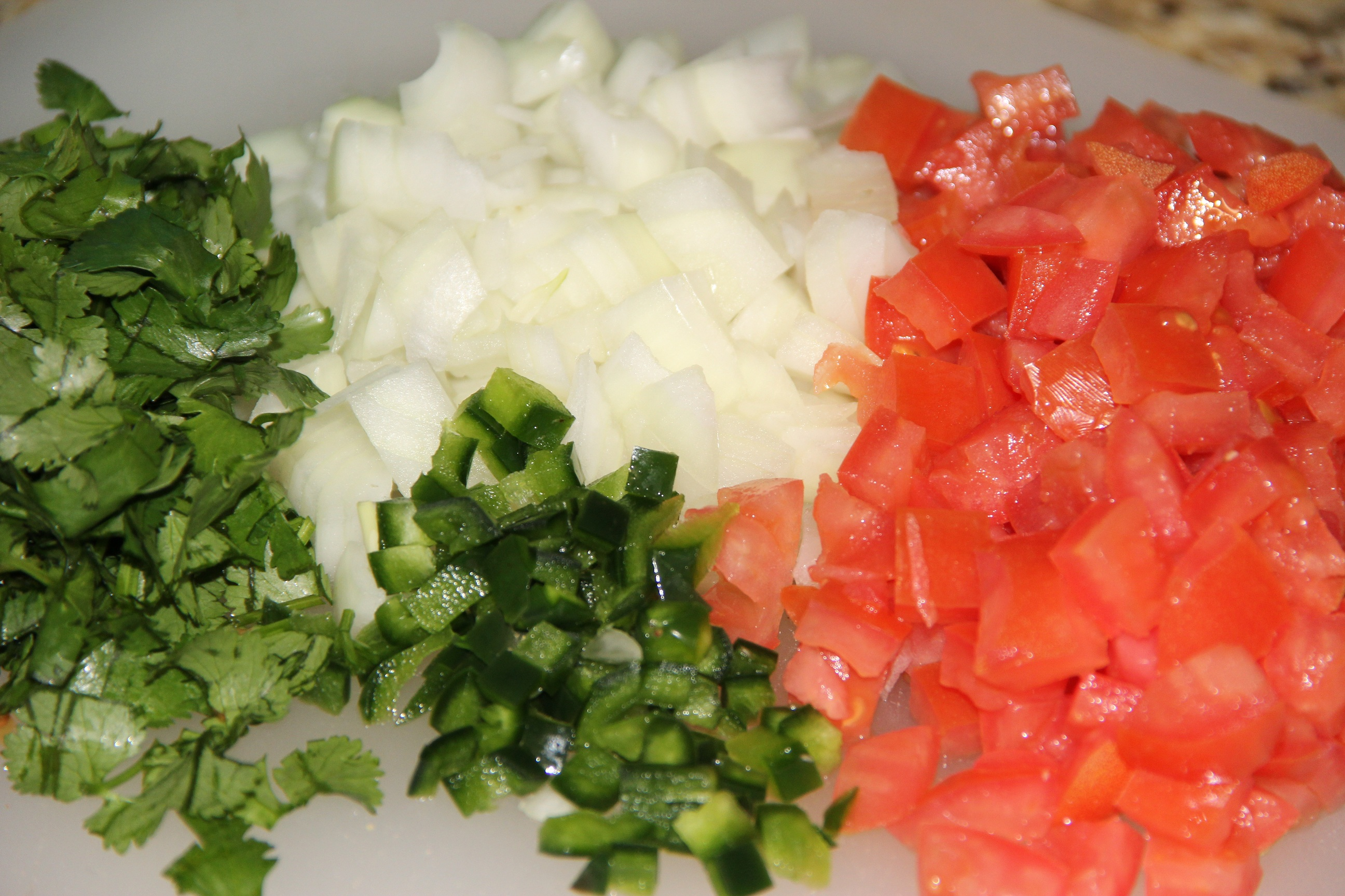 Fresh Pico de Gallo - Around My Family Table