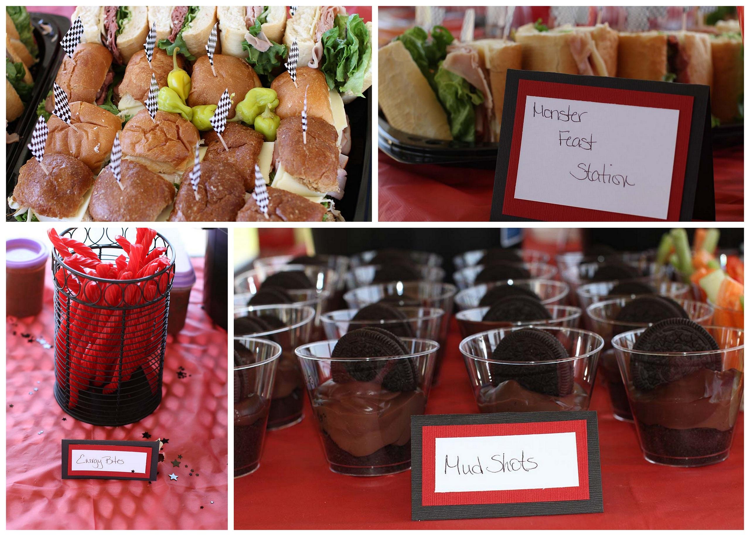 Gavinsrd Red Themed Food Ideas