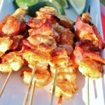 Shrimp & Bacon Kabobs