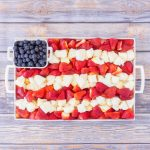 4th of July Fruit Platter