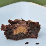 PB Stuffed Brownies