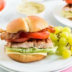 Blackened Salmon BLT Sandwich