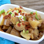 Loaded Slow Cooker Potatoes