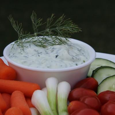 Garlic Dill Veggie Dip