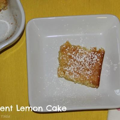 2 Ingredient Lemon Cake