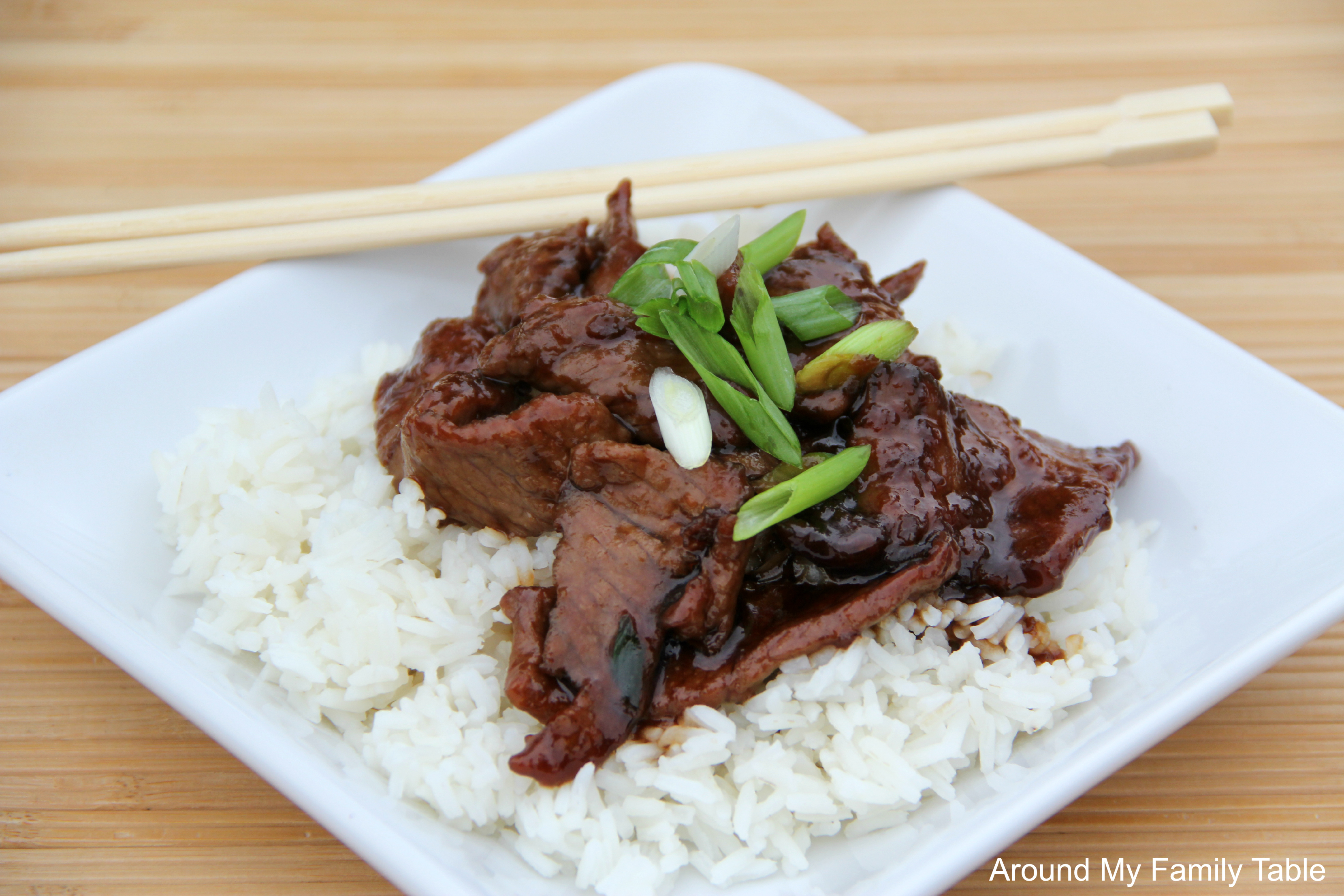 PF Chang's Mongolian Beef - Around My Family Table