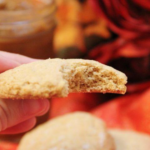 Pumpkin Butter Sugar Cookie