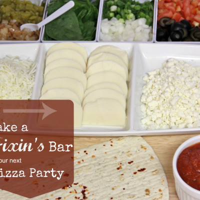 Pizza Bar Party Ideas