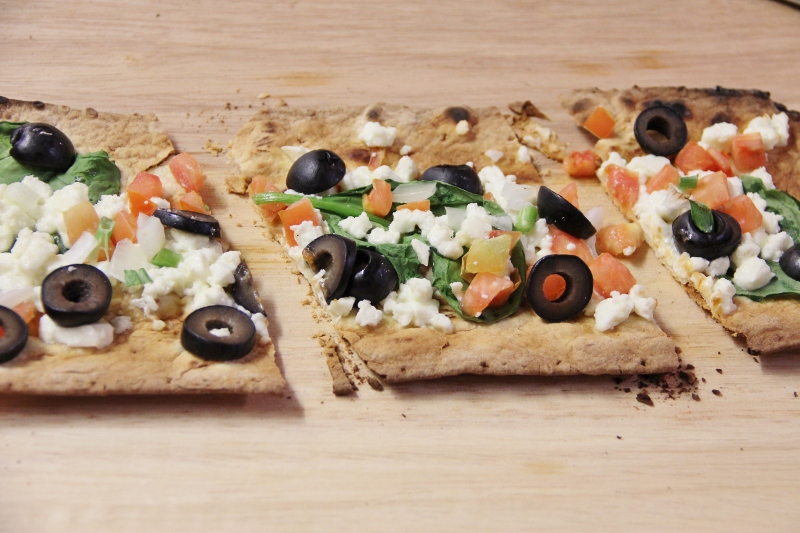 Pizza Fixin's Bar Party Ideas--Greek Pizza