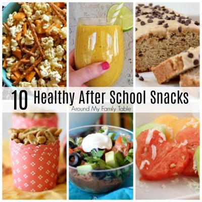 10 Healthy After School Snacks you can feel good about giving your kids!
