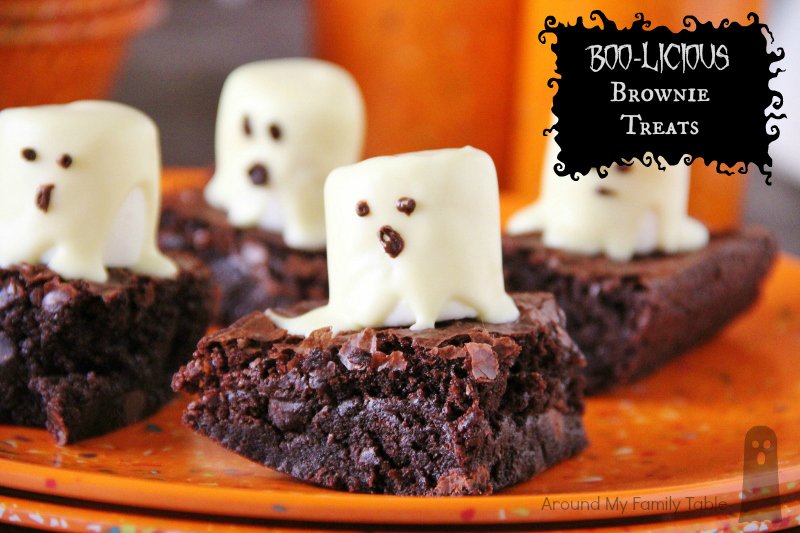 Boo-licious Brownie Treats - Around My Family Table