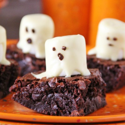 Boo-licious Brownie Treats