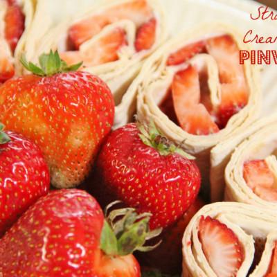 Strawberry Cream Cheese Pinwheels