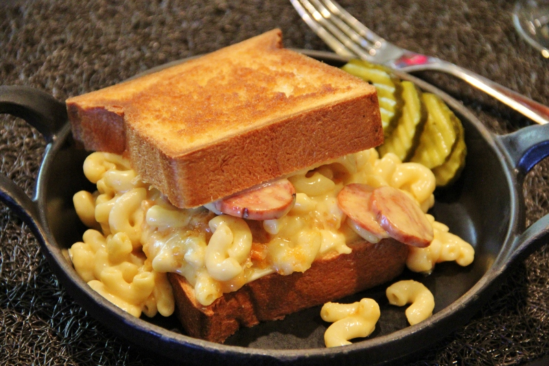 Grilled Mac & Cheese Sandwiches - Around My Family Table
