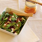 Fall-Inspired Spinach Salad